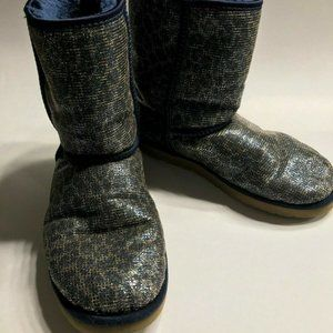 UGG Australia Women's Classic Short Glitter Boots